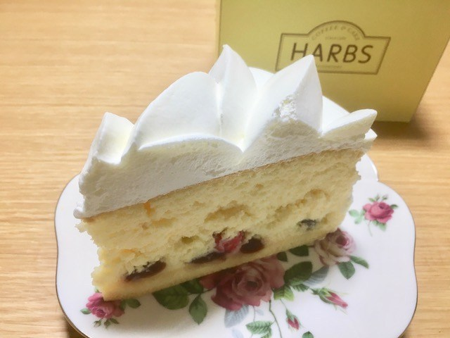 harbs-チェリーのチーズスフレ