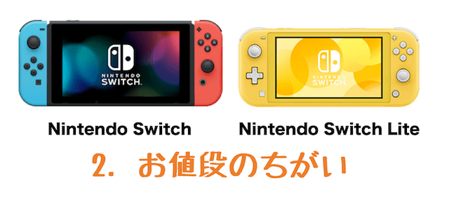 nintendo switch 価格 比較